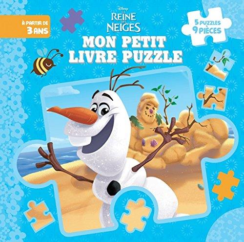 9782014010800: Olaf, La Reine des Neiges, MON PETIT LIVRE PUZZLE (9 Pièces)