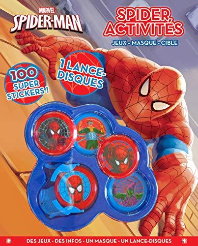 9782014012668: Spider Activités : Contient : 1 lance-disque et 5 disques