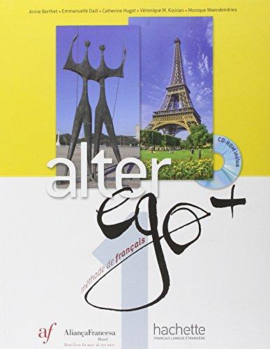 9782014015676: Alter Ego + 1 : Livre de L Eleve - Edicao Alianca Francesa