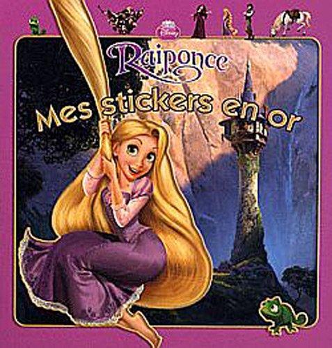 Raiponce, Mes Stickers en or: Disney, Walt