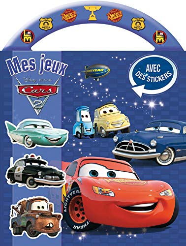cars 2, mes jeux a poignee (9782014600247) by [???]