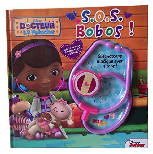 9782014601039: Docteur La Peluche : S.O.S. Bobos ! : Avec ton st�thoscope magique