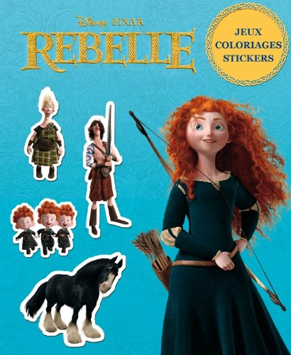 the brave, coloriages, jeux et stickers 1 (9782014601114) by [???]