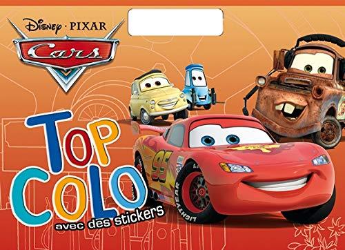 9782014603057: Cars, top colo avec des stickers