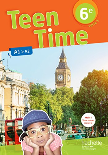 9782014627190 Teen Time Anglais Cycle 3 6e Livre Eleve