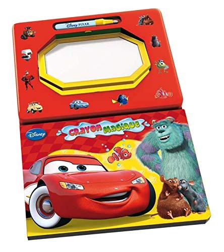 9782014627374: Cars et autres héros Pixar : Livre ardoise à eau et crayon magique