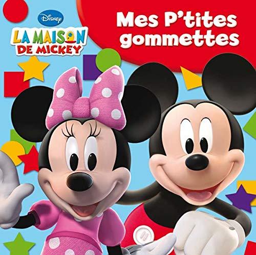 9782014628012: Mes P'tites gommettes (La maison de Mickey)