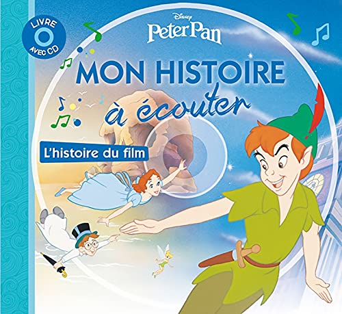 9782014629569: Peter Pan, Mon Petit Livre-CD (English and French Edition)