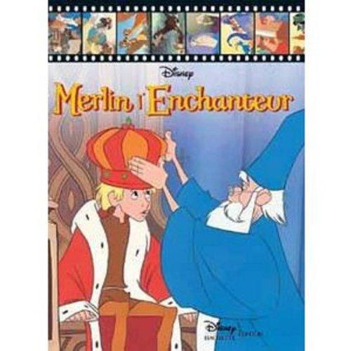 Merlin l'enchanteur, disney présente + magnet -