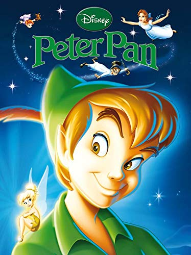 9782014632729: Peter Pan, Disney Classique N.E. (English and French Edition)