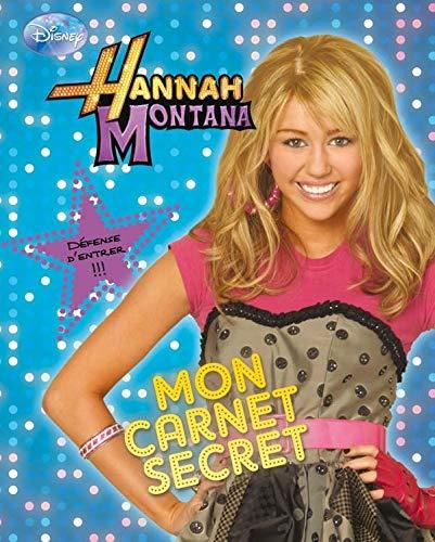 9782014633856: Hannah Montana : Mon carnet secret