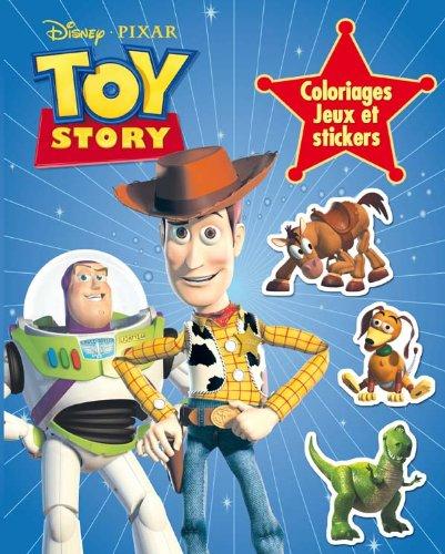 9782014634969: Toy Story: Coloriages, Jeux et Stickers