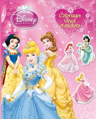 9782014635010: Princesses, COLOS, JEUX ET STICKERS