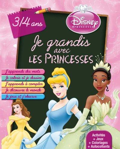 9782014635379: Je grandis avec Princesses 3/4 ans