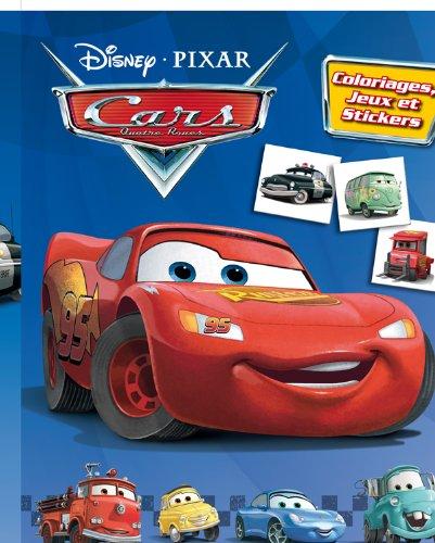 9782014637717: Cars, COLOS JEUX ET STICKERS