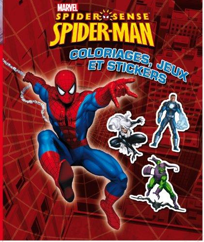 9782014639209: Spiderman #1, SUPER STICKERS
