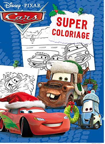 9782014639223: Cars, super coloriage