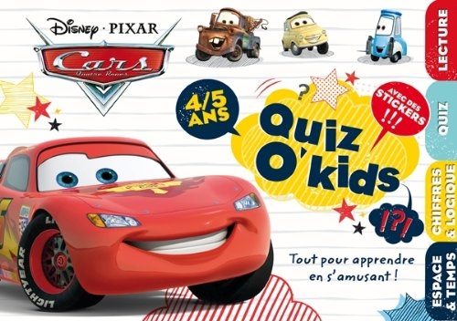 quiz o kids cars 4/5 ans (9782014640373) by [???]