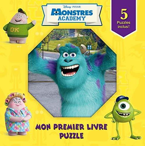 9782014641752: Monstres Academy, mon premier livre puzzle