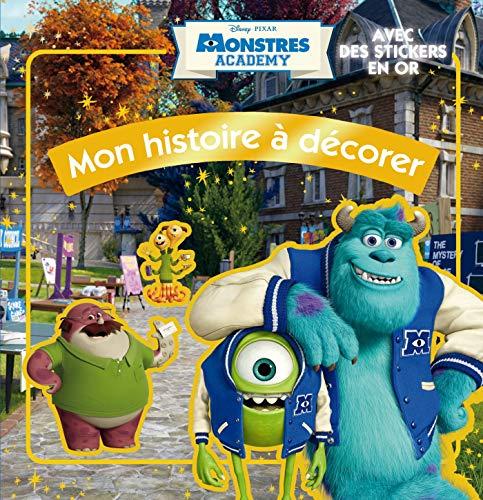 9782014642681: Monstres Academy : Mon histoire � d�corer