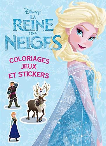 9782014644890: La Reine des Neiges,Colos, jeux et stickers