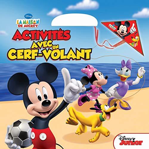 9782014648911: La maison de Mickey, activit�s avec un cerf-volant