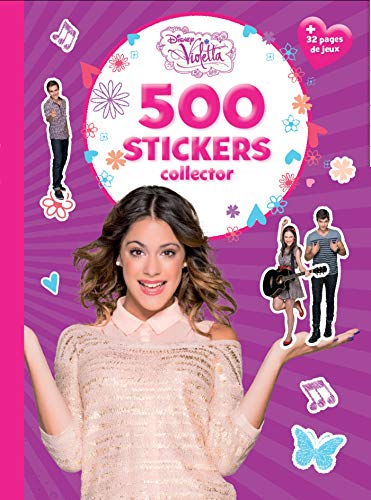 9782014649550: Violetta, 500 stickers collector