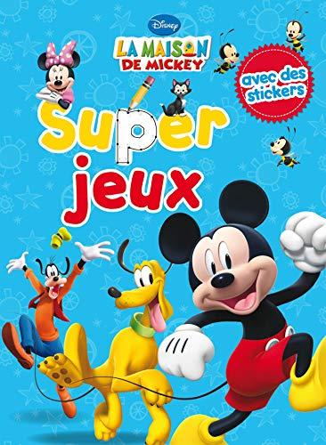 9782014651478: Super jeux La maison de Mickey