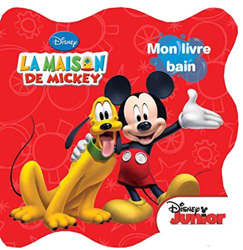 9782014651706: La maison de Mickey, mon livre bain