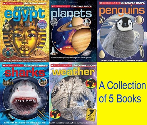 Discover More Confident Readers (Set of 5 Books): Scholastic