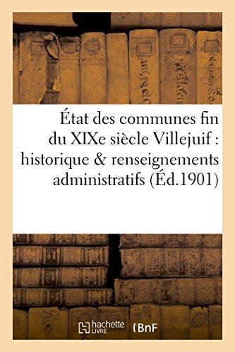 tat des communes fin du XIXe sicleVillejuif: Bournon, Fernand