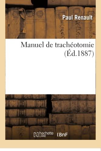 Manuel de trach (Paperback): RENAULT-P