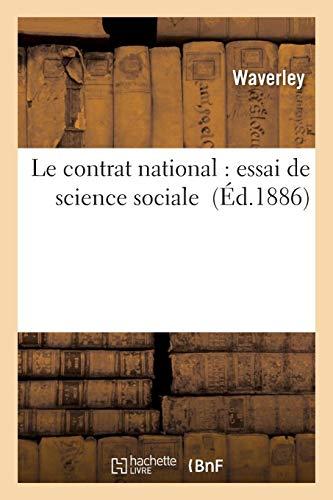 Le contrat national essai de science sociale: Waverley