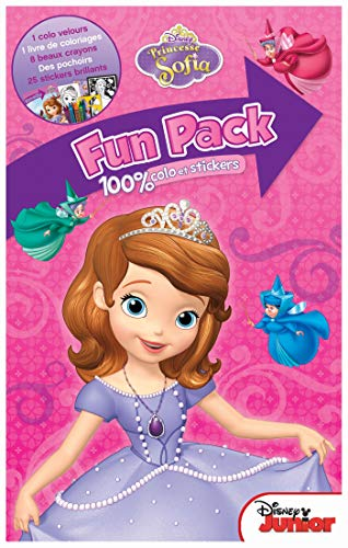 9782016209745: Fun pack Princesse Sofia : 100% colos et stickers