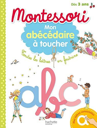 9782016255049: Montessori - Mon abécédaire à toucher