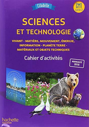 9782016271742: Citadelle Sciences CM - Cahier élève CM1 - Ed. 2018