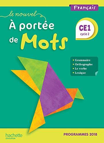 9782016272060: Le Nouvel A portée de mots CE1 - Manuel élève - Edition 2019