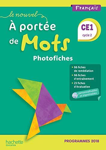 9782016272084: Le Nouvel A portée de mots CE1 - Photofiches + CD - Edition 2019
