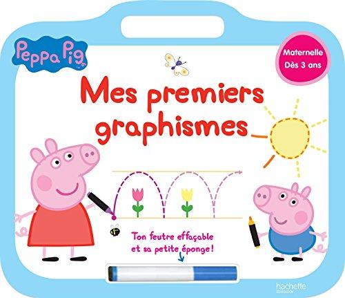 9782017012092: Peppa Pig ardoise Mes premiers graphismes