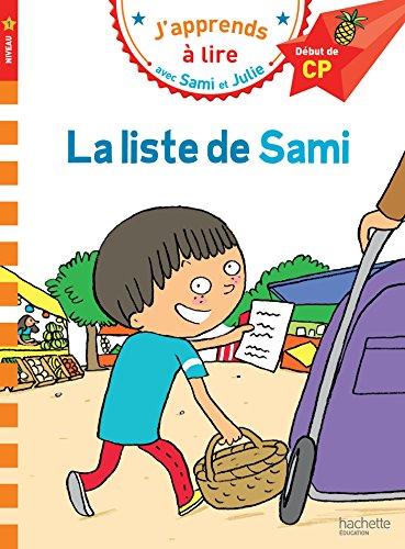 9782017012153: Sami et Julie CP Niveau 1 La liste de Sami