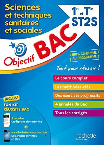 9782017013143: Objectif Bac - STSS 1ère et Term ST2S