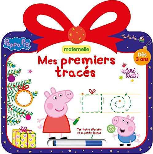 9782017013518: Peppa Pig ardoise Mes premiers tracés- spécial Noël