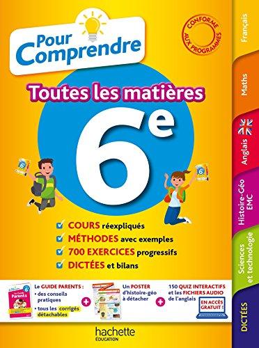 Pour Comprendre Toutes Les Matià res 6E - Gorillot, Malorie
