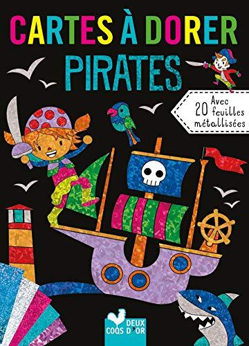 9782017040514: cartes à dorer pirates