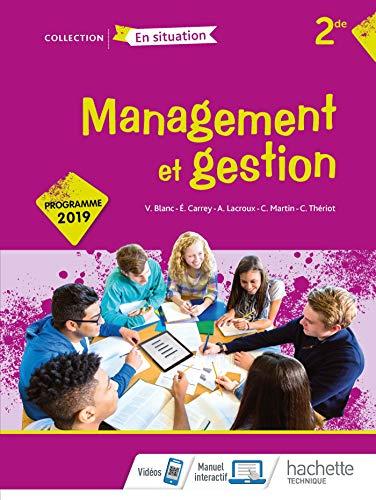 9782017041856: Management et gestion Option 2de - Livre élève - Éd. 2019