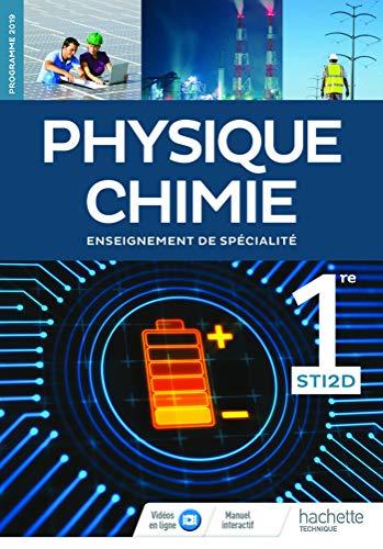 9782017041931: Physique-Chimie 1re STI2D - Livre de l'Elève - Edition 2019