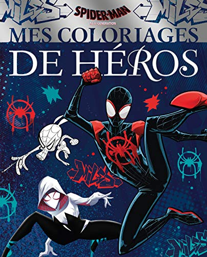 9782017046042: SPIDER-MAN NEW GENERATION - Mes Coloriages de Héros - MARVEL