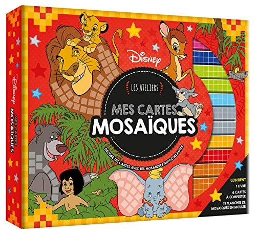 9782017051626: DISNEY - Coffret Les Ateliers - Mes Cartes Mosaïques