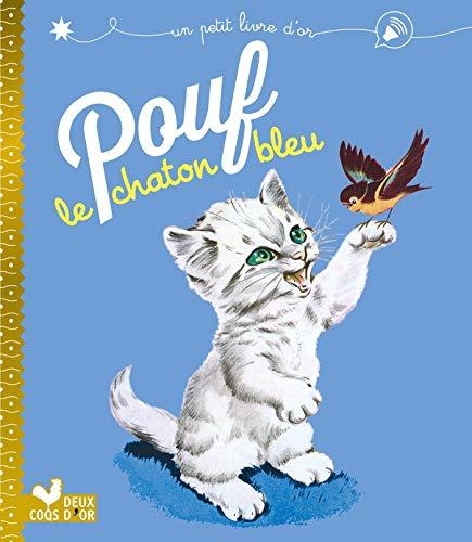 9782017060505: Pouf le chaton bleu