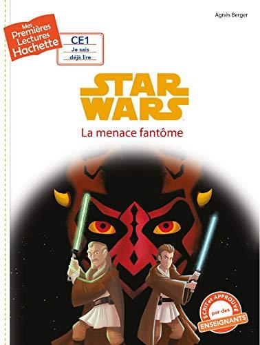 9782017064039: Premières lectures CE1 Star Wars - La menace fantôme